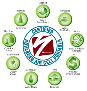 Certified Advance Air Cell Formula for Green Carpet Cleaning